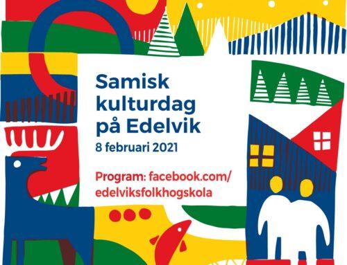 Samisk kulturdag på Edelvik 8 februari 2021